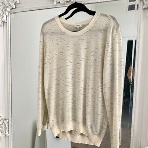 Aritzia Wilfred Light Beige Sweater